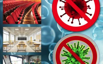 Viren-Desinfektion durch Ozon